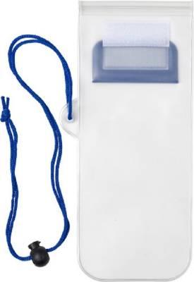 Handyschutzhülle Transparent, wasserresistent-blau(kobaltblau)