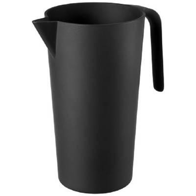 Hermes 1,7 Liter Karaffe aus Bambusfaser-schwarz