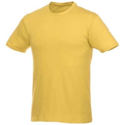 Heros kurzärmliges T-Shirt Unisex-gelb-XS