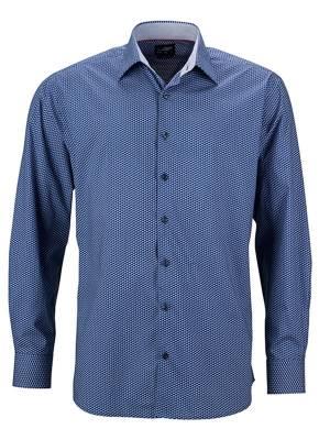 Herren Hemd Wings JN672-blau(navyblau)-S