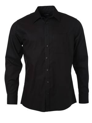 Herren Hemd lange Ärmel Micro-Twill JN682