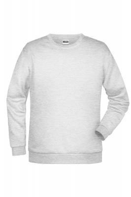 Herren Promo Sweater JN794-ash-S