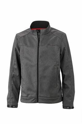 Herren Softshell Jacket JN1088-grau(dunkelgrau)-XXXL
