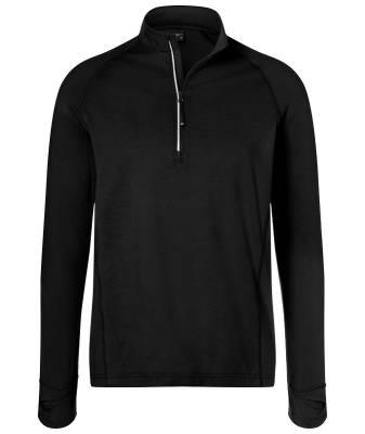 Herren Sports Shirt Half-Zip JN788