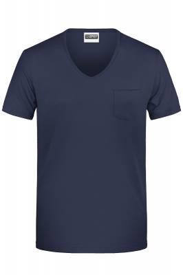 Herren-T Pocket 8004-blau(navyblau)-S