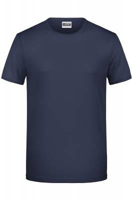 Herren T-Shirt 8002-blau(navyblau)-XL
