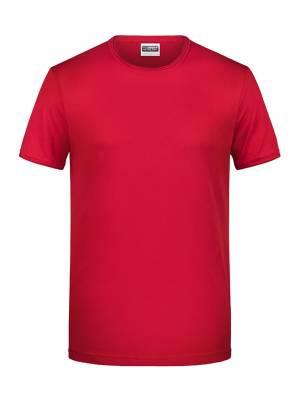 Herren T-Shirt 8002-rot-S