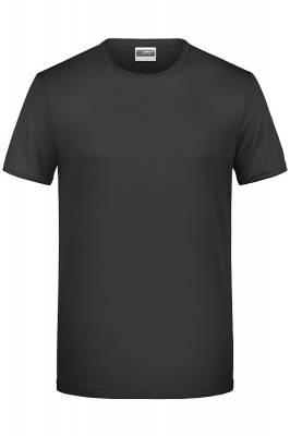 Herren T-Shirt 8002-schwarz-XL