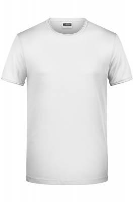 Herren T-Shirt 8002-weiß-XL