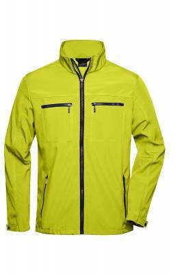 Herren Tailored Softshell JN1058-gelb-XXXL