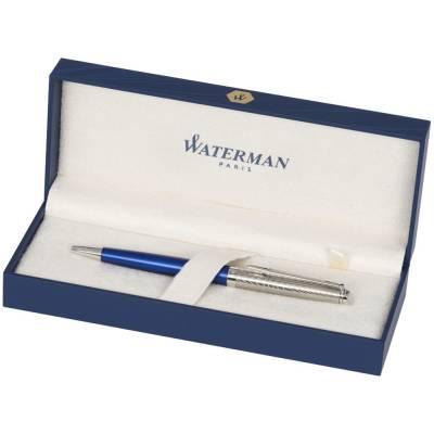 Waterman Hémisphère Deluxe Premium Kugelschreiber-blau-blaue Mine