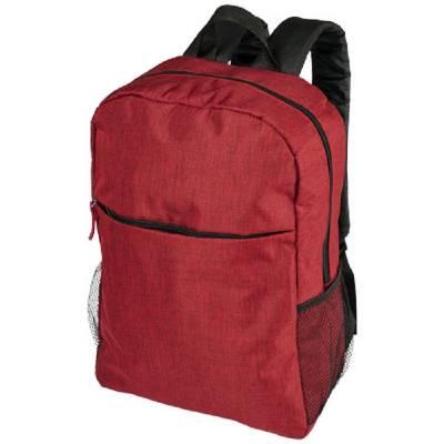 Hoss 15,6 Zoll melierter Laptop-Rucksack-rot