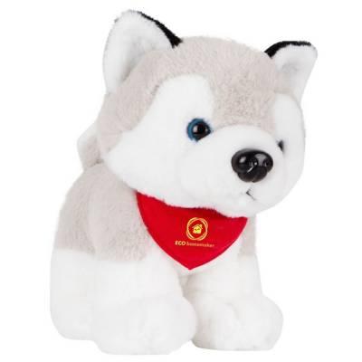 Hund Husky - mehrfarbig