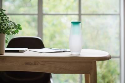 Hyta Karaffe 500 ml mit Trinkglas - grün