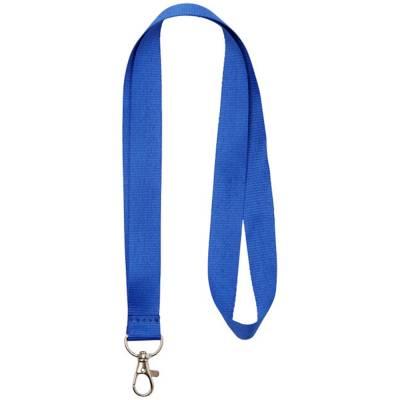 Impey Lanyard mit praktischem Haken-blau(royalblau)