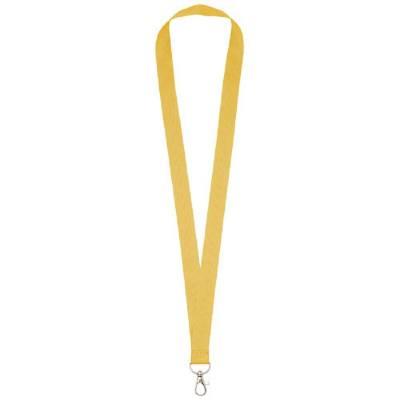 Impey Lanyard mit praktischem Haken-gelb