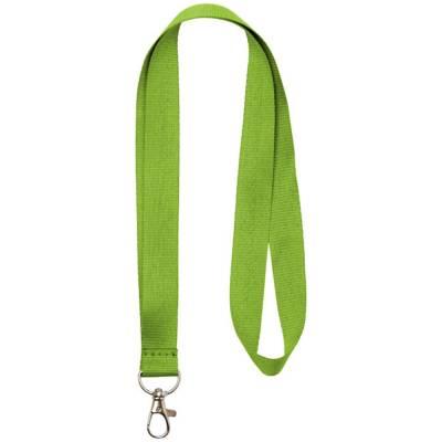 Impey Lanyard mit praktischem Haken-grün(limettgrün)