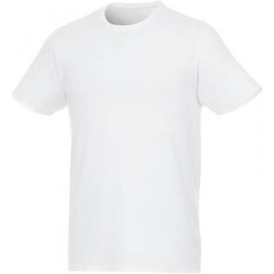 Jade Kurzarm T-Shirt für Herren aus recyceltem Material-weiß-XS