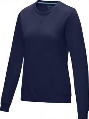 Jasper Damen Pullover mit Rundhalsausschnitt Bio Material-blau(navyblau)-XXL