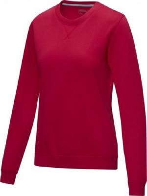 Jasper Damen Pullover mit Rundhalsausschnitt Bio Material-rot-XS