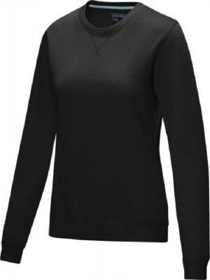 Jasper Damen Pullover mit Rundhalsausschnitt Bio Material-schwarz-L