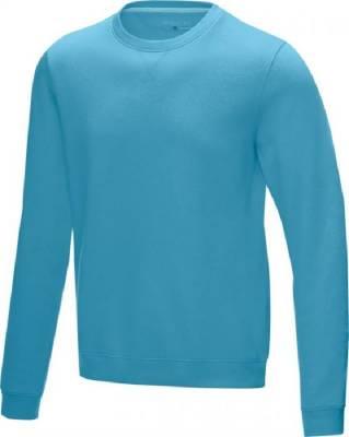 Jasper Herren Pullover mit Rundhalsausschnitt Bio Material-blau(hellblau)-L