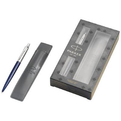 Jotter Schreibset blau mit Stifthülle