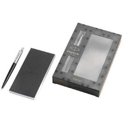 Jotter Schreibset schwarz mit Notizbuch