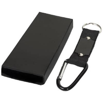 Karabiner-Schlüsselanhänger-schwarz