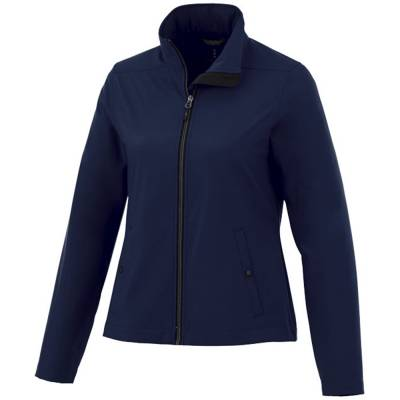 Elevate Karmine Damen Softshell Jacke - blau(navyblau) - XS