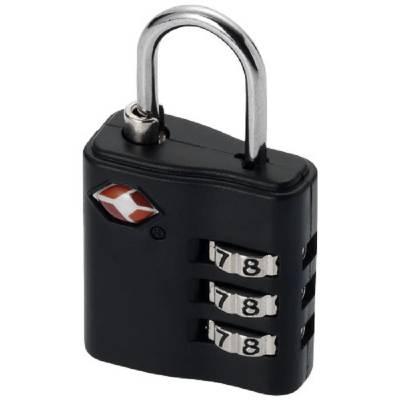 Kingsford TSA Gepäckschloss-schwarz