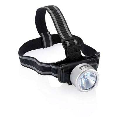 Kopflampe Everest  - silber