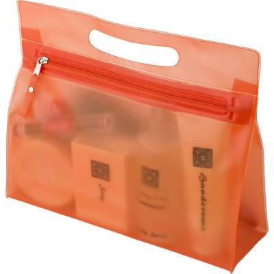 Kosmetiktasche Trebbin-orange-