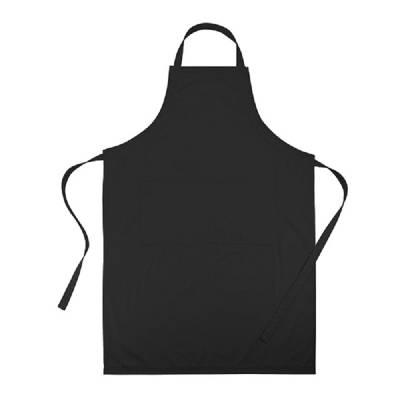 Küchenschürze München - schwarz