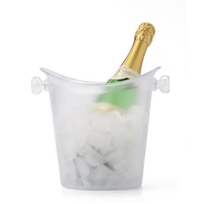 Kühler für Wein, Sekt und Champagner-transparent-
