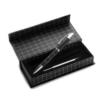 Kugelschreiber Ludwigshafen in Geschenkbox-rot-schwarze Mine