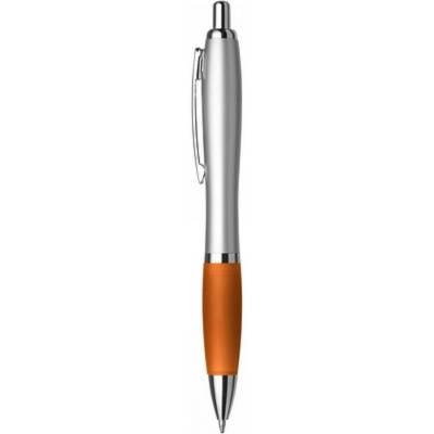 Kugelschreiber Pulsnitz-orange-blaue Mine-Eigenlager