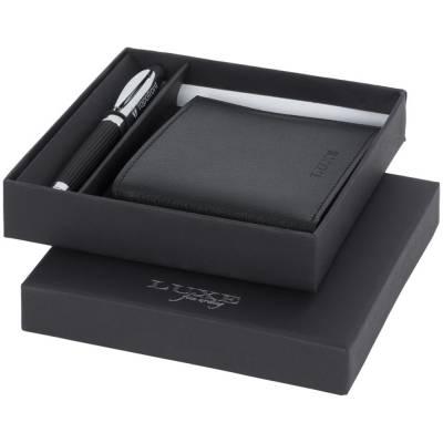 Kugelschreiber mit Geldbörse ? Geschenkset (106704)-schwarz