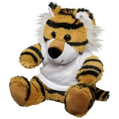 Kuscheltier Tiger mit T-Shirt