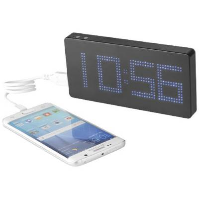 LED Display Powerbank mit Uhr