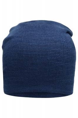 Lässige überlange Beanie Bronson-blau-one size-unisex