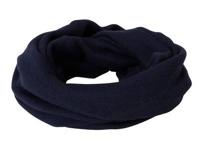 Lässiger Loop-Schal-blau-one size-unisex