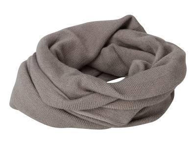 Lässiger Loop-Schal-grau-one size-unisex