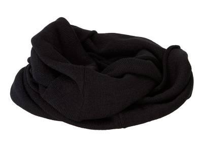 Lässiger Loop-Schal-schwarz-one size-unisex