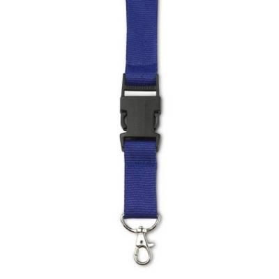 Lanyard mit Befestigungsclip-blau(dunkelblau)