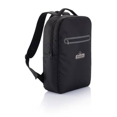 Laptoprucksack London  - schwarz
