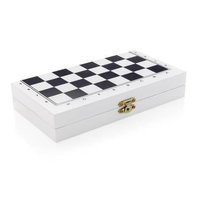 Leun Deluxe 3-in-1 Brettspiel in Holzbox