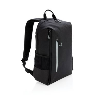 Lima 15 Zoll RFID & USB Laptop-Rucksack PVC-frei-schwarz