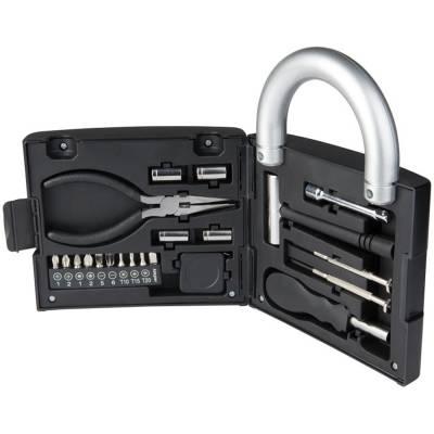 Locky 21-teiliger Werkzeugkasten-schwarz
