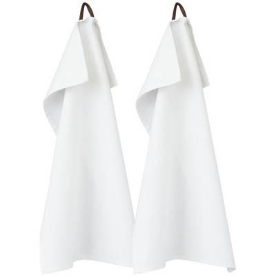 Longwood 2er Küchentuch Set-weiß